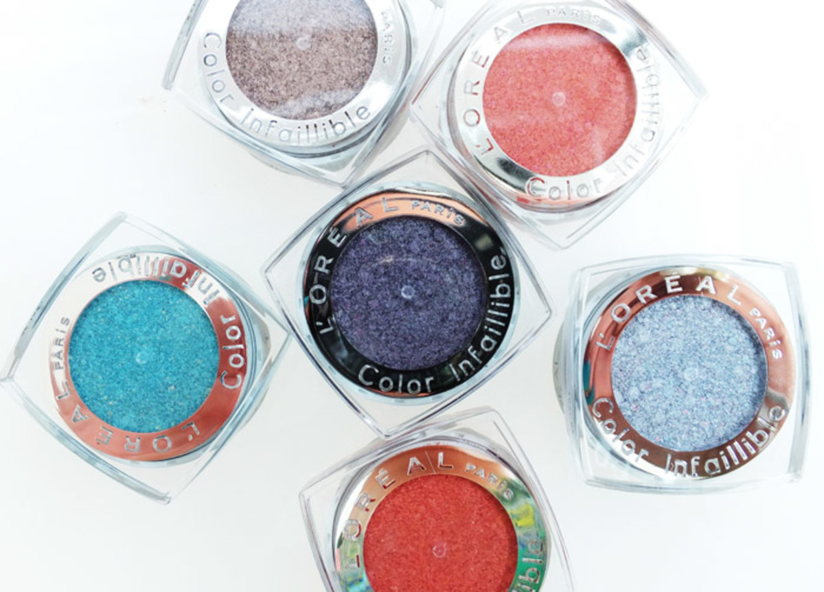 L'Oreal Paris Colour Infallible Iridescent Dual Pigment Eyeshadow