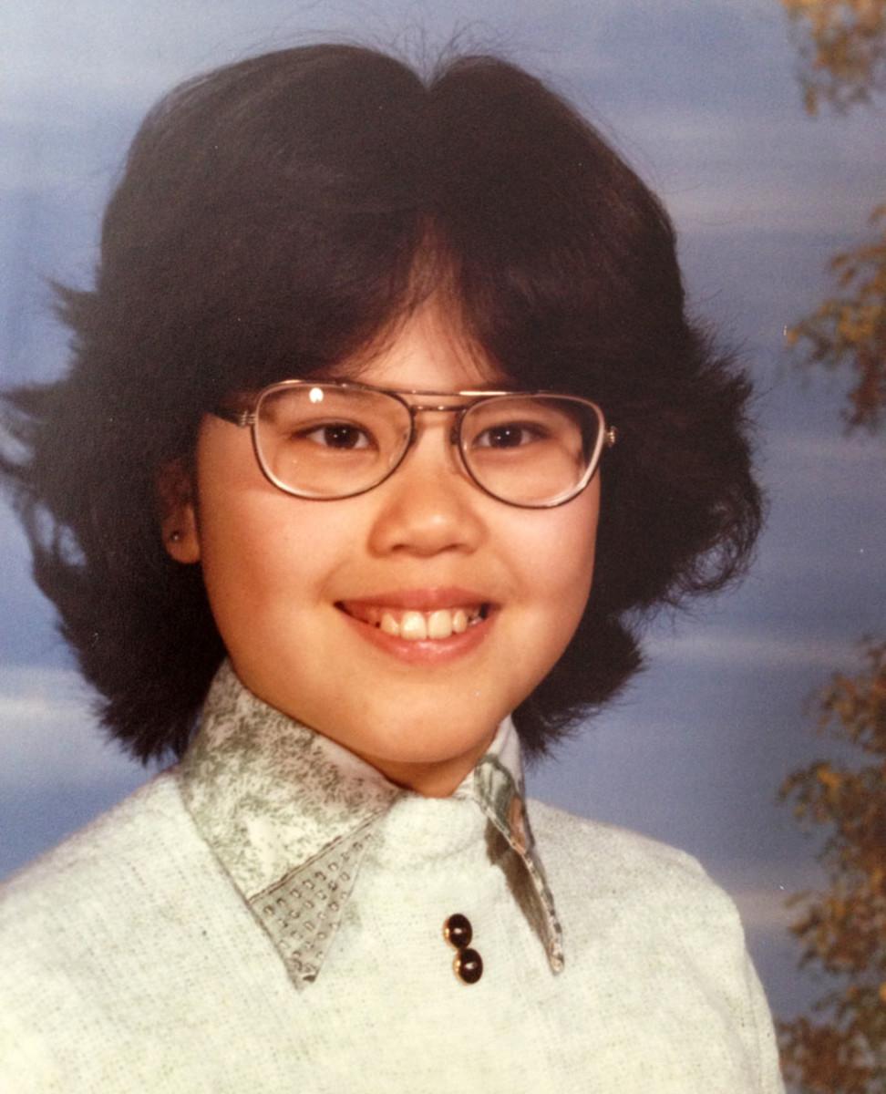 Janine Falcon age 9