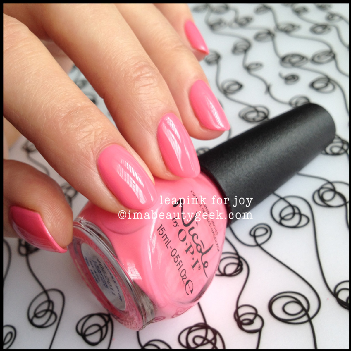 Nicole by OPI Summer 2014_Nicole by OPI LeaPink for Joy Seize the Summer 2014