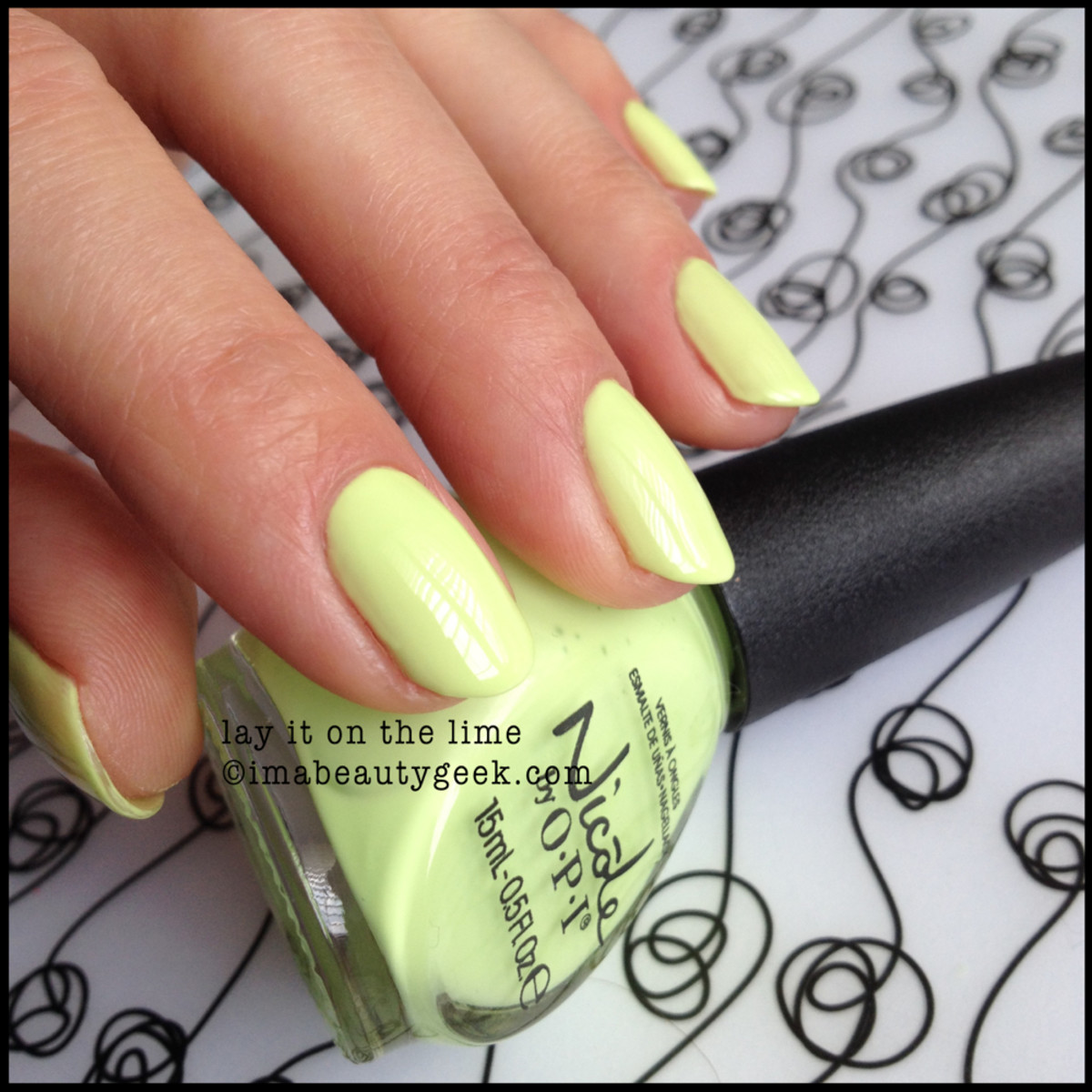 Nicole by OPI Summer 2014_Nicole Lay it on the Lime Summer 2014