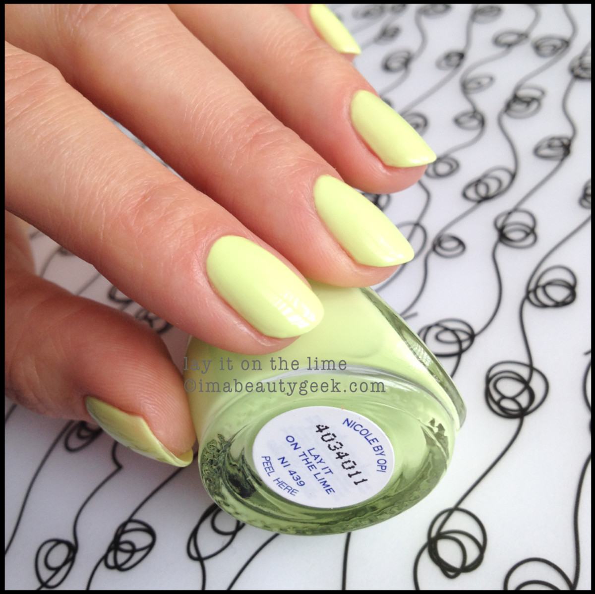 Nicole by OPI Summer 2014_Nicole by OPI Lay it on the Lime Seize the Summer 2014