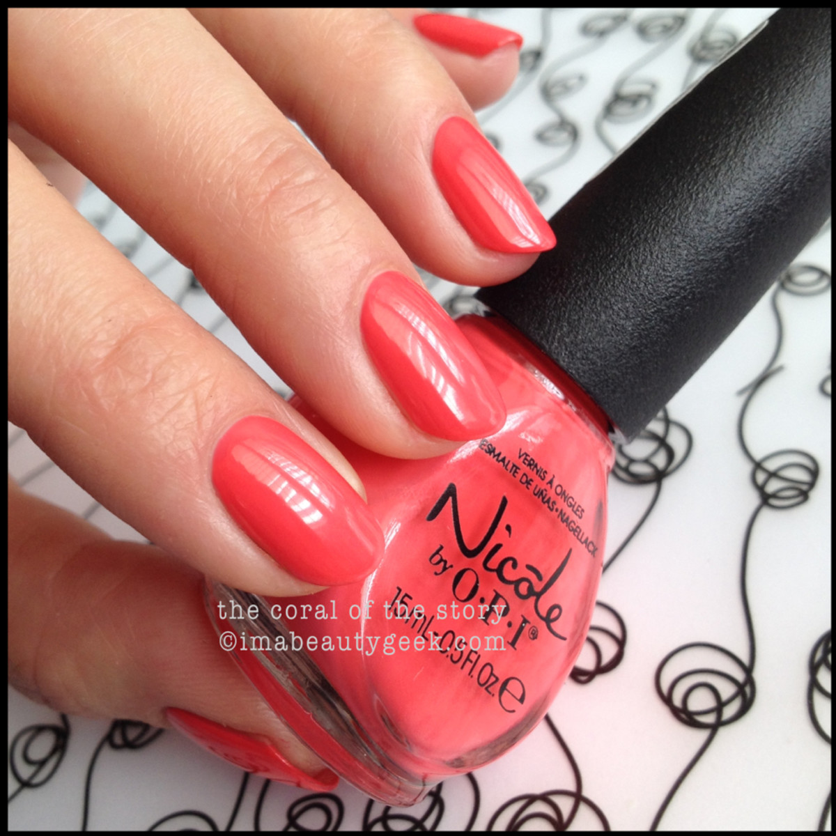Nicole by OPI Summer 2014_Nicole by OPI The Coral of the Story Summer 2014