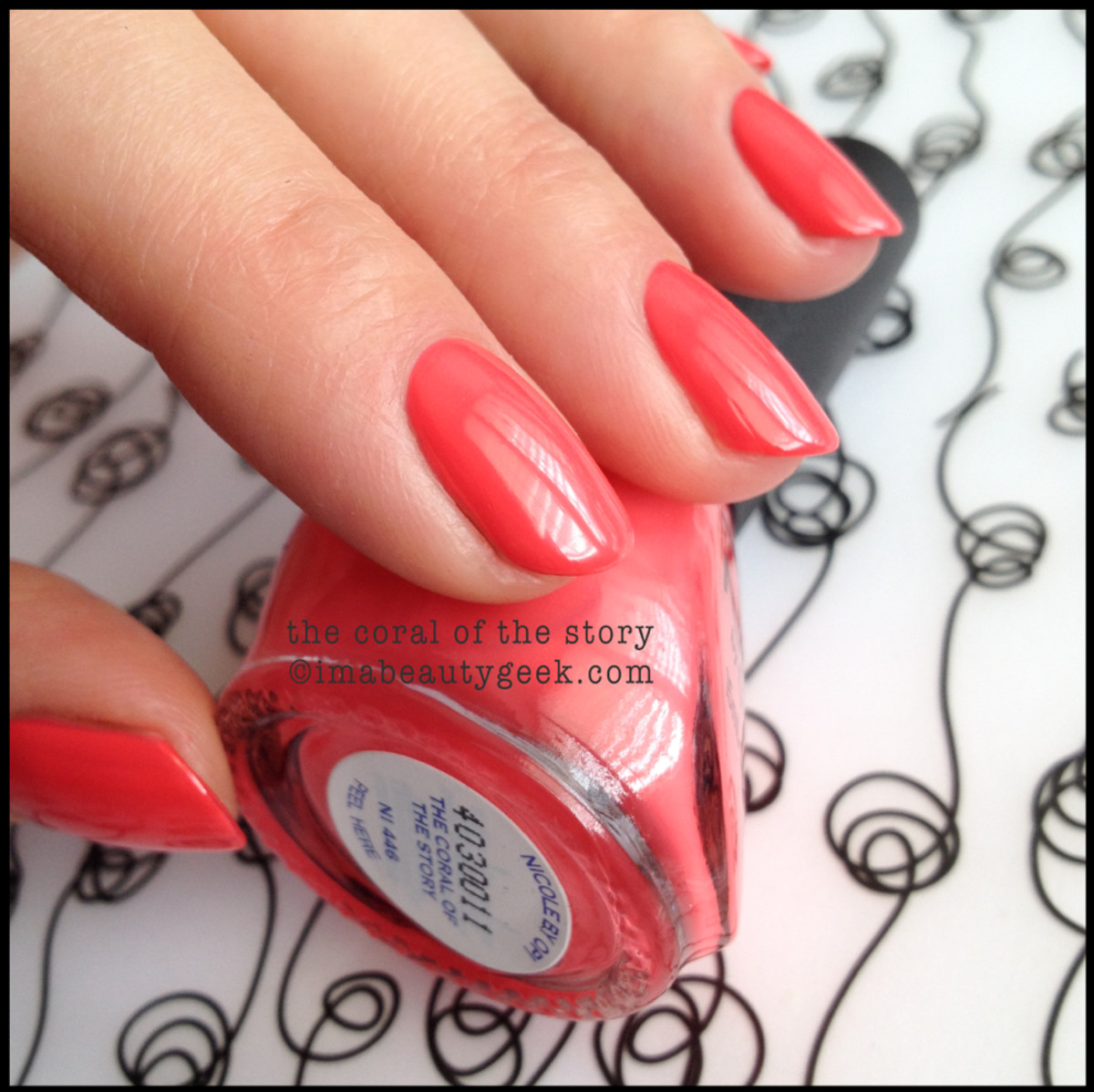 Nicole by OPI Summer 2014_Nicole by OPI The Coral of the Story Seize the Summer 2014