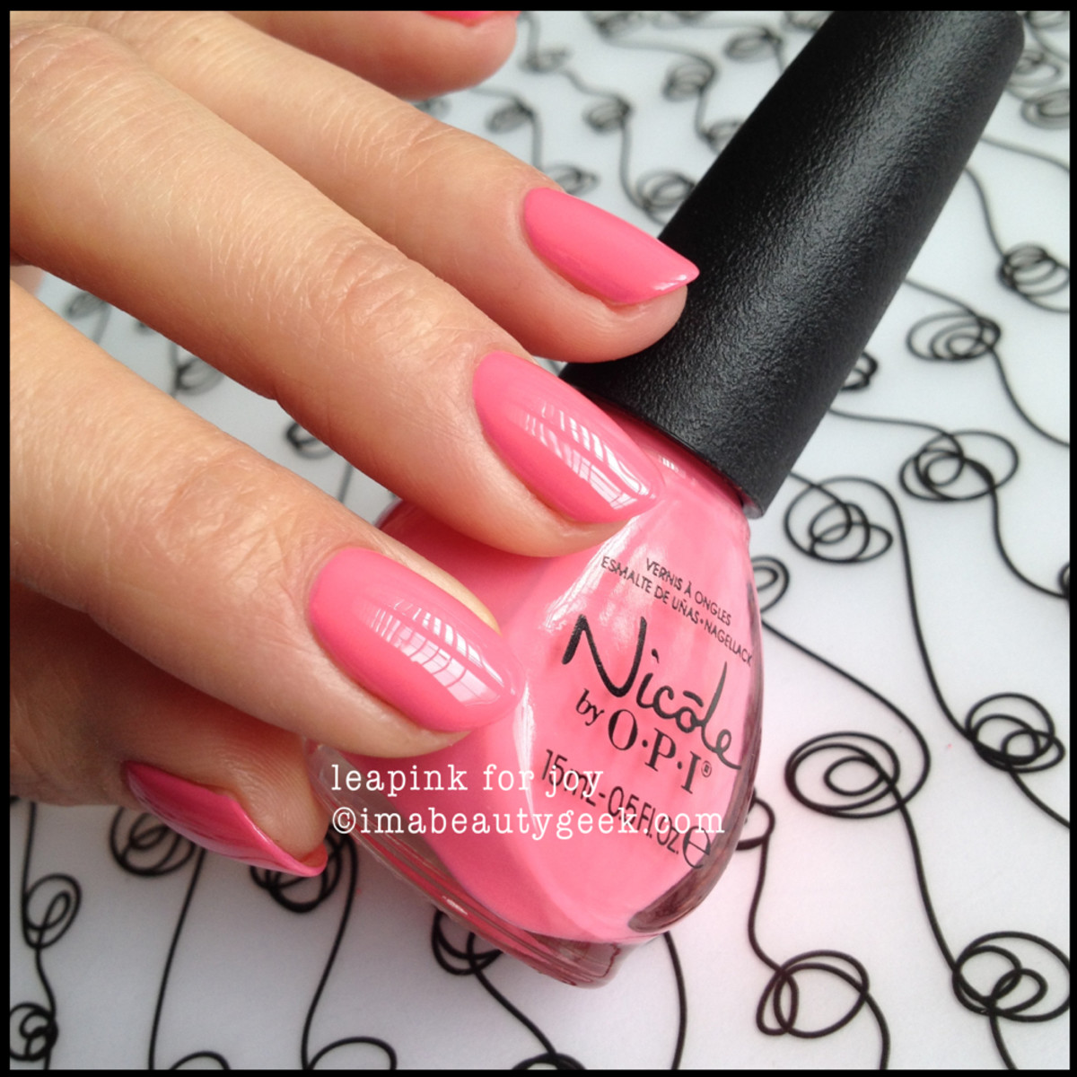 Nicole by OPI Summer 2014_Nicole by OPI Leapink for Joy Summer 2014