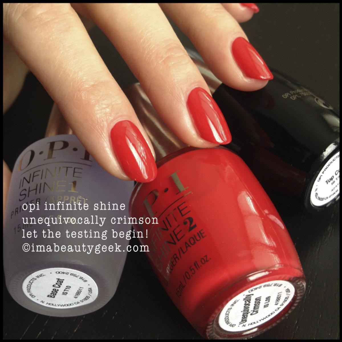 OPI Unequivocally Crimson Infinite Shine_1