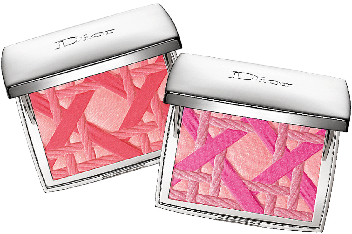 Dior Summer 2014 makeup_Diorblush Cannage Edition_Coral and Pink