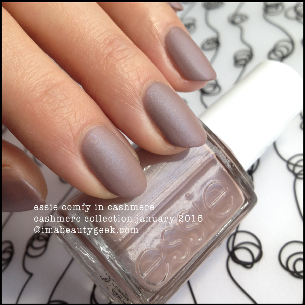 Essie Comfy in Cashmere Matte Collection 2015