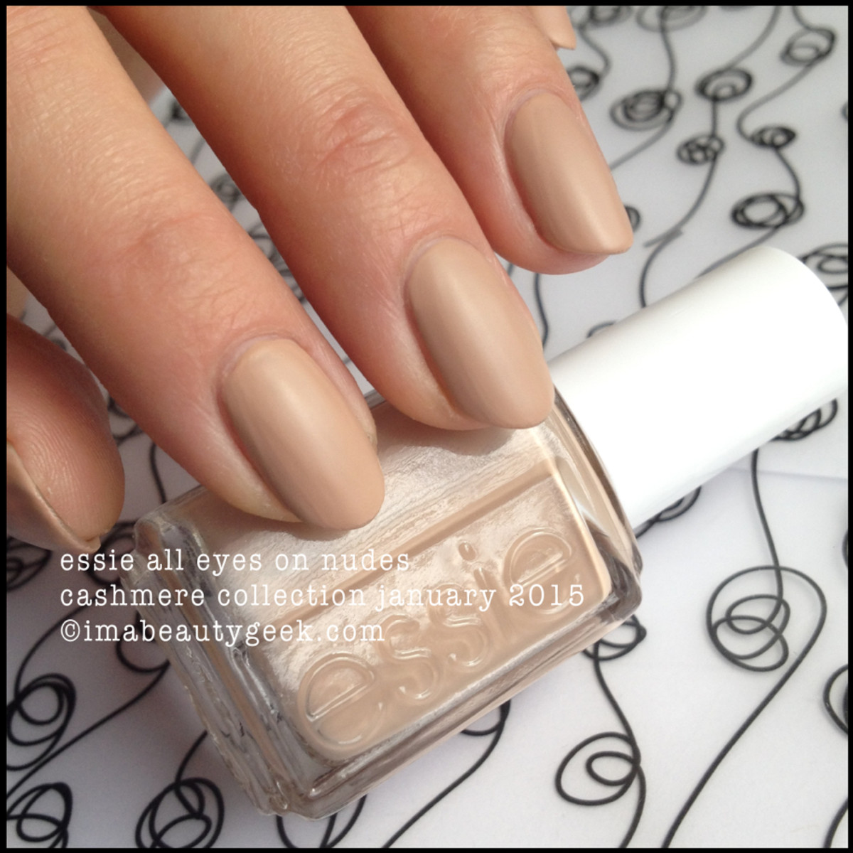 Essie All Eyes on Nude Cashmere Matte Collection 2015