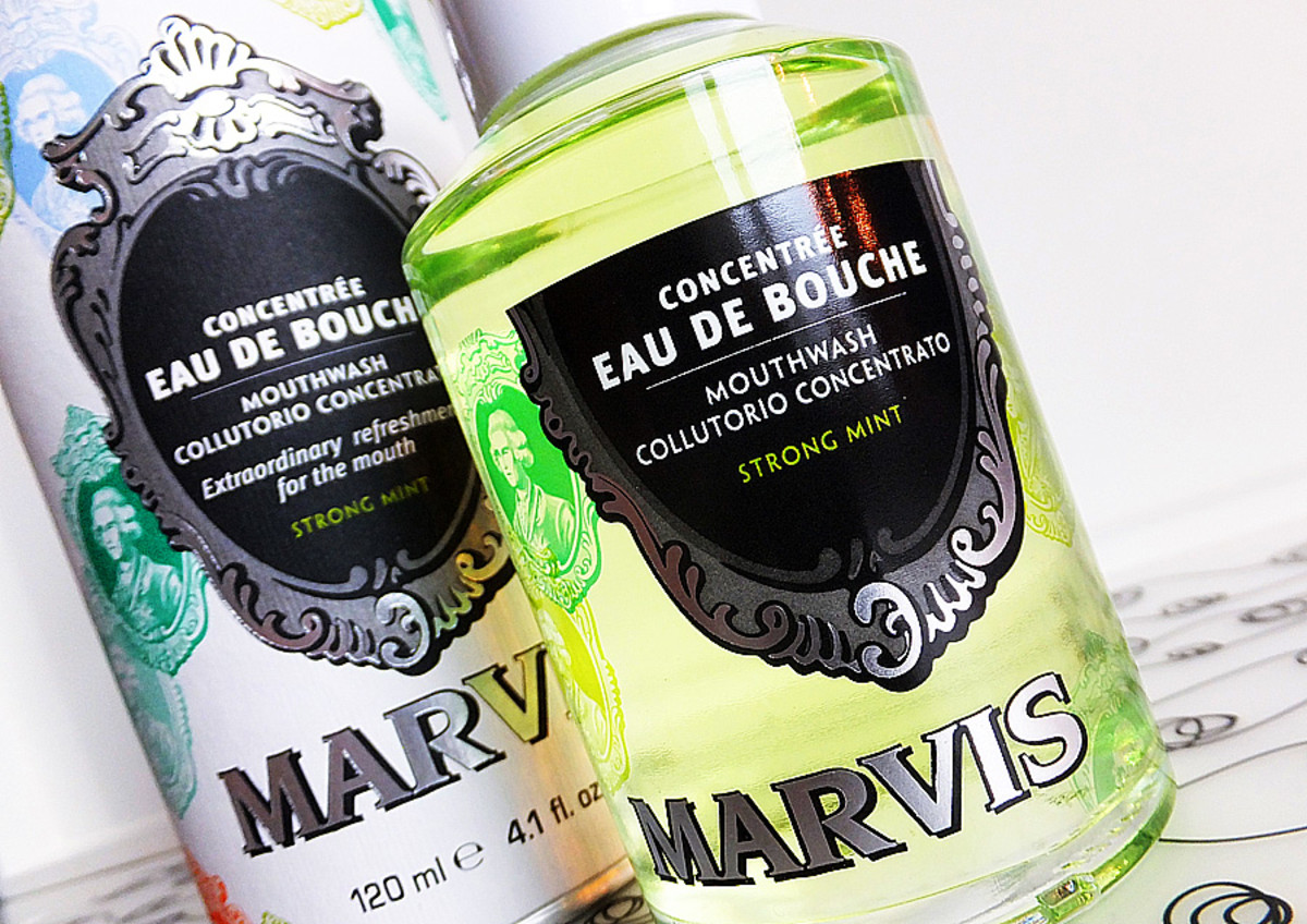 kissing and cavities_Marvis Mouthwash_Eau de Bouche