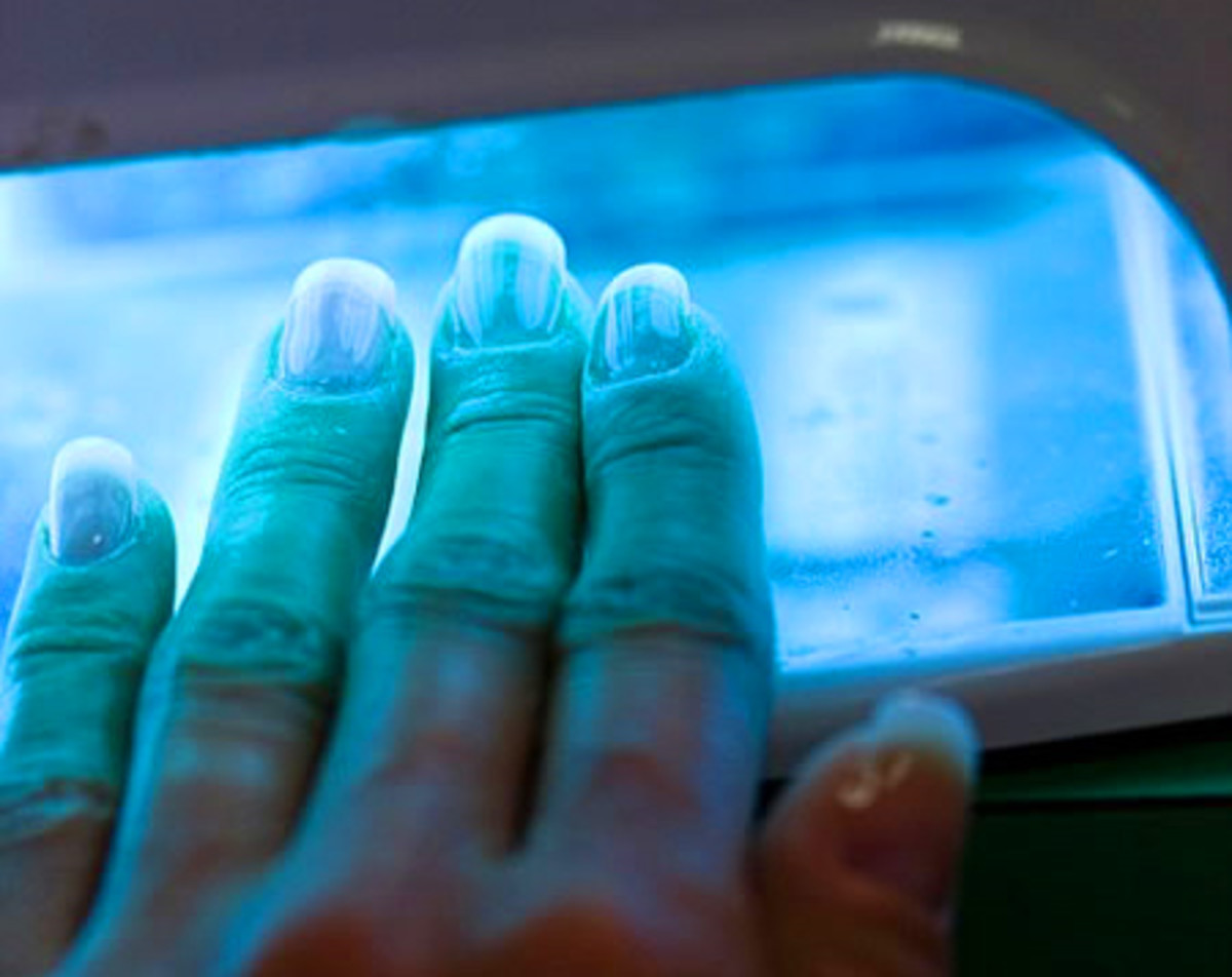 Ultraviolet Manicures Uv Cured Gel Led Cured Gel And