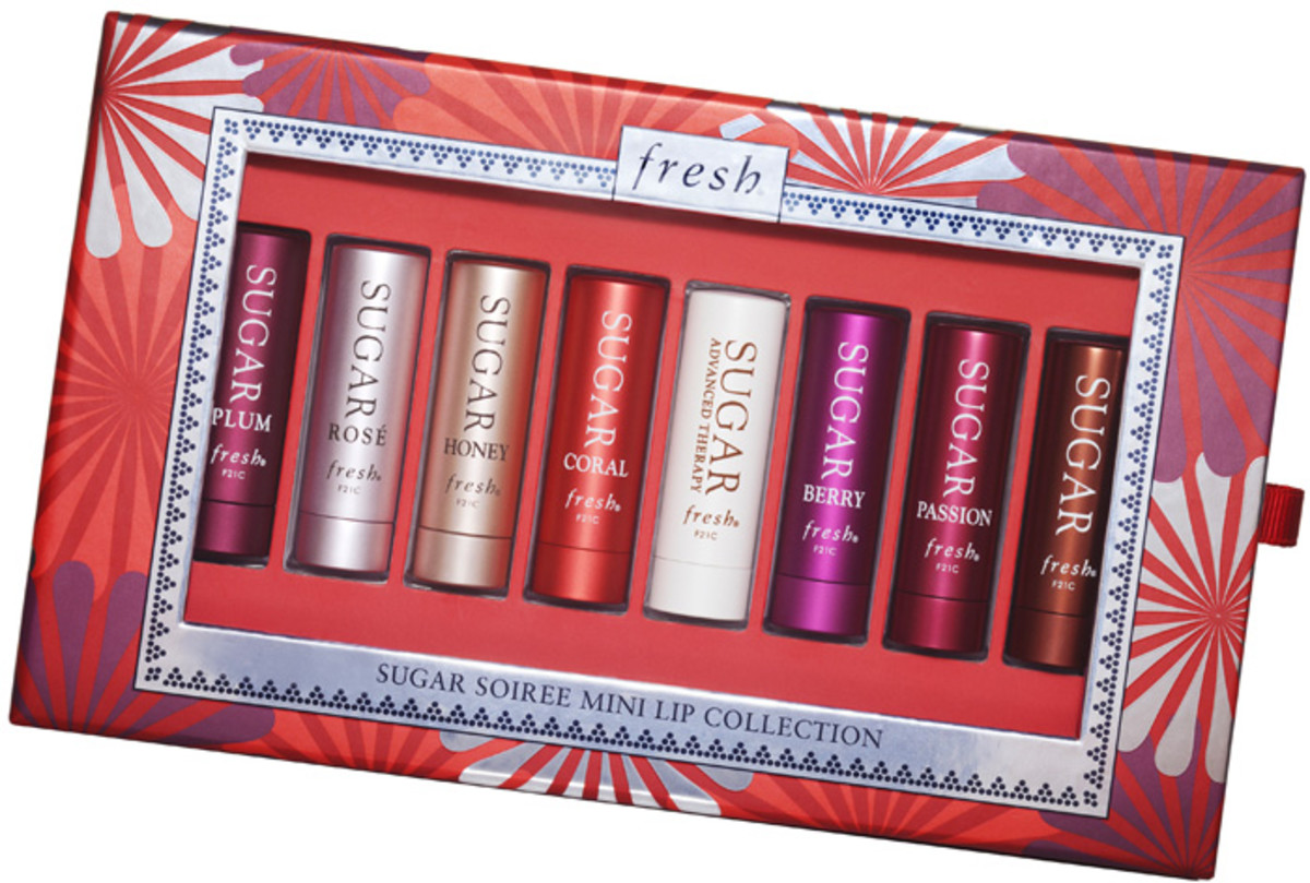 Fresh Sugar Soiree lip balm collection