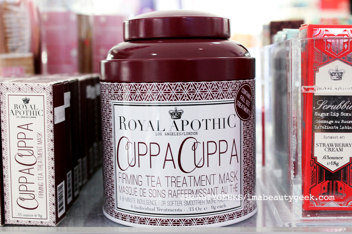 Royal Apothic Cuppa Cuppa Firming Tea Mask_Murale