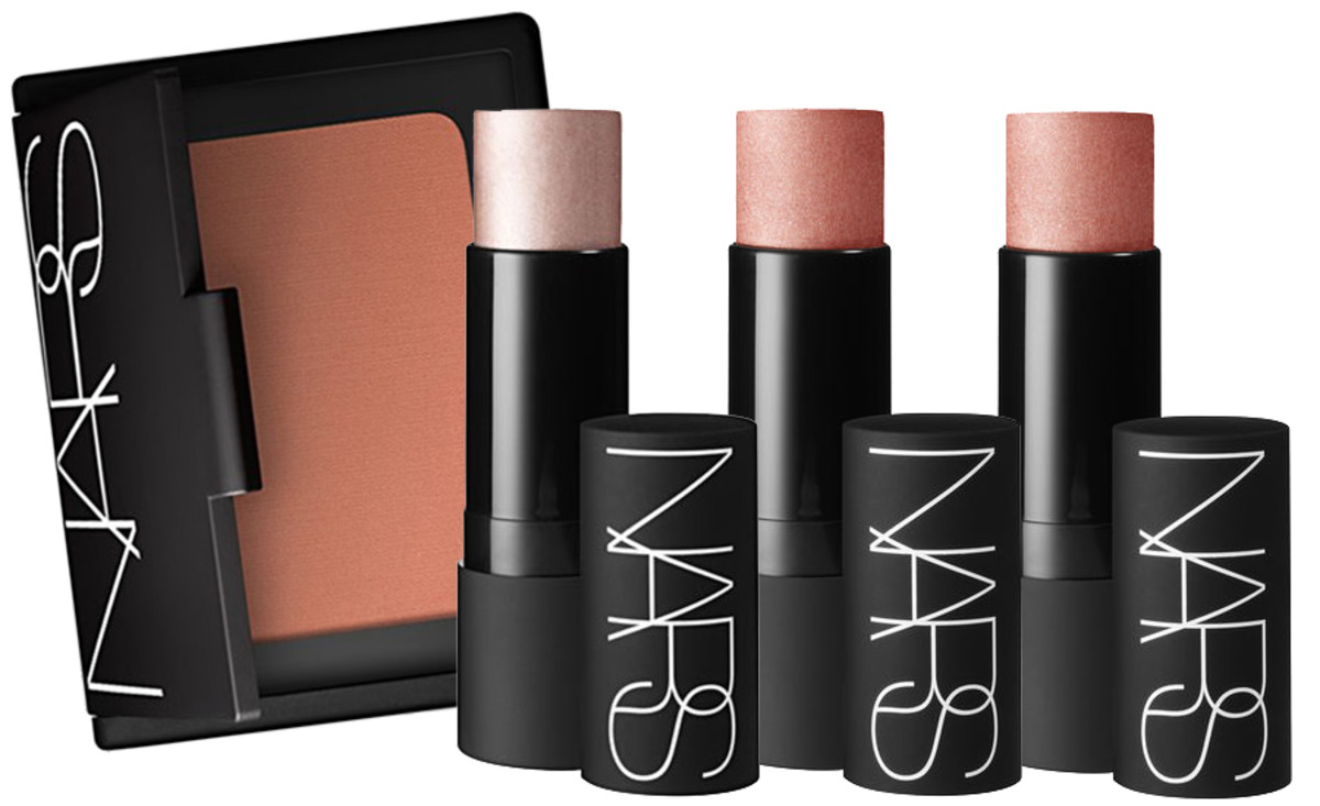 NARS Bronzer in Irrisistiblement, The Multiple in Copacabana and Maldives, and The Matte Multiple in Laos