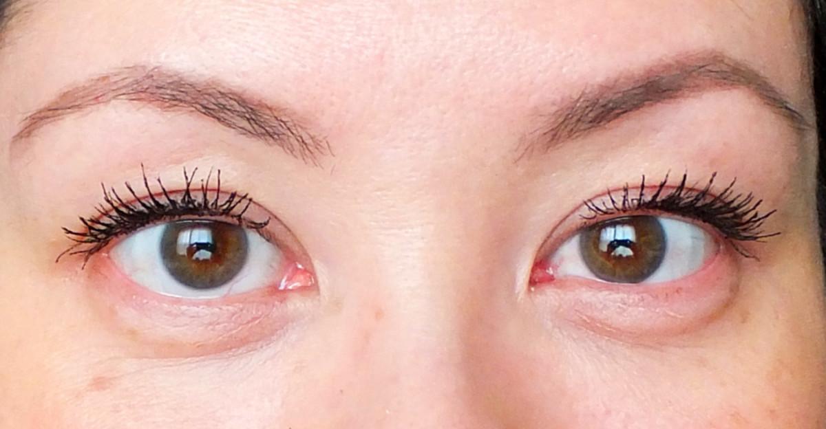L'Oréal Paris Voluminous Butterfly Mascara – no tightlining.
