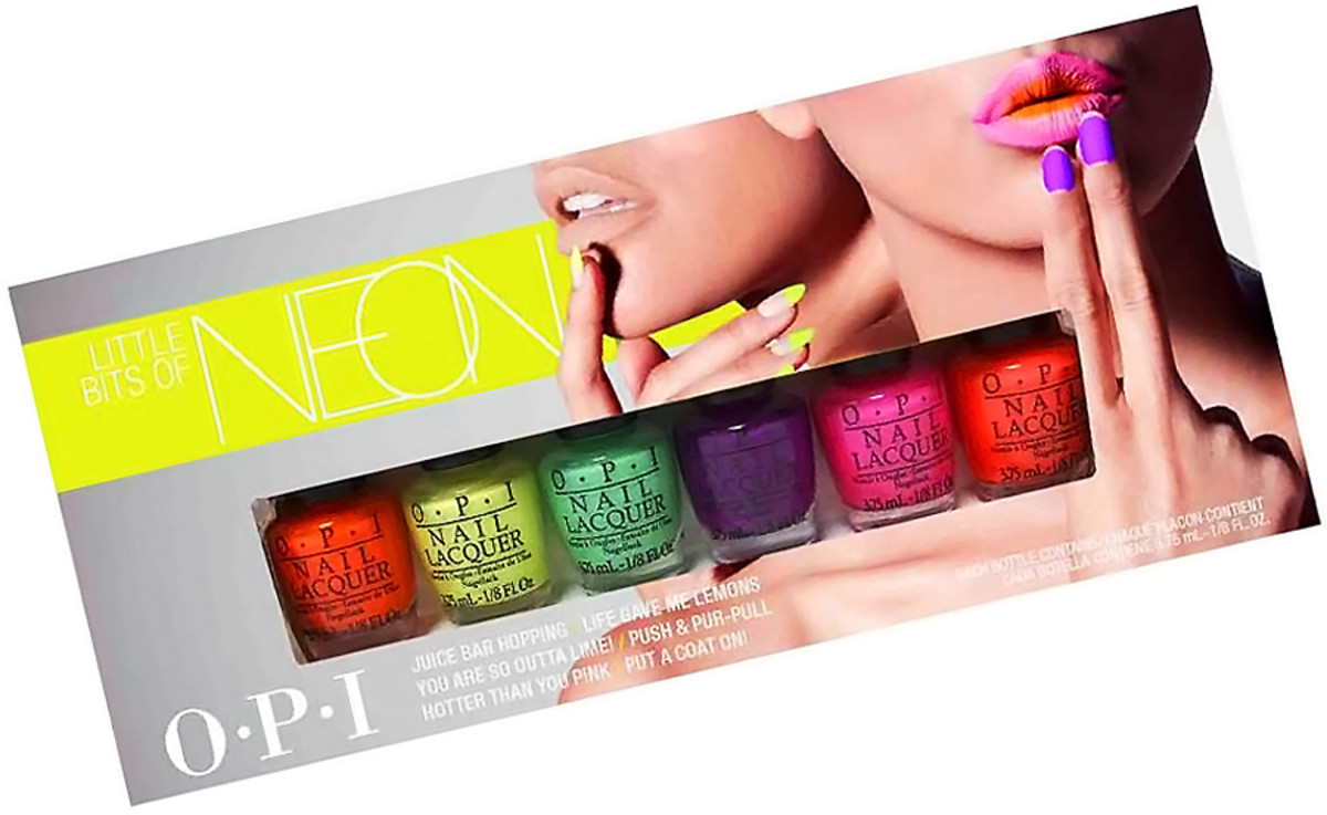 OPI Neons 2014 mini pack