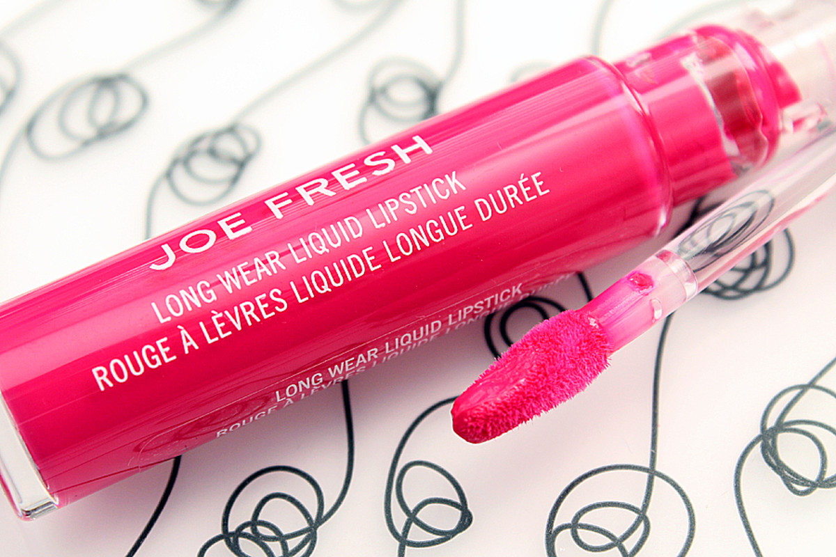 Joe Fresh Liquid Lipstick Fuchsia