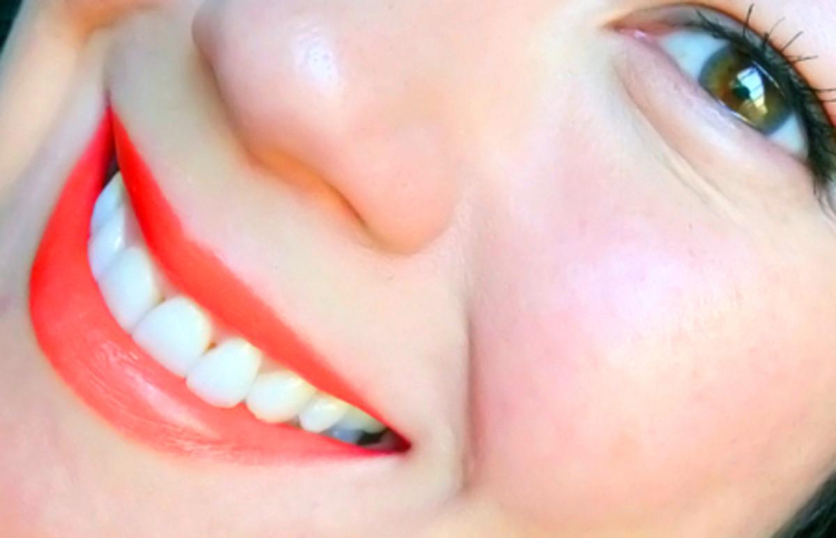 MAC Amplified Lipstick_Neon Orange_$17.50