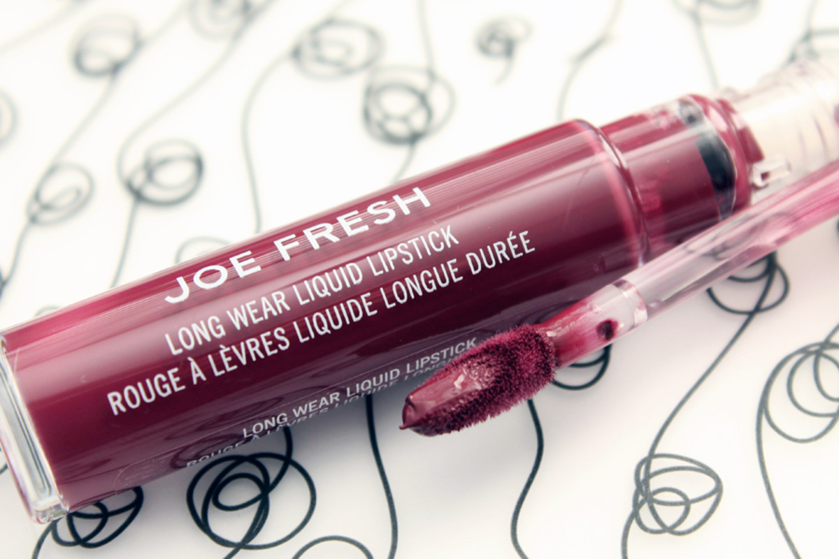 Joe Fresh Liquid Lipstick Plum