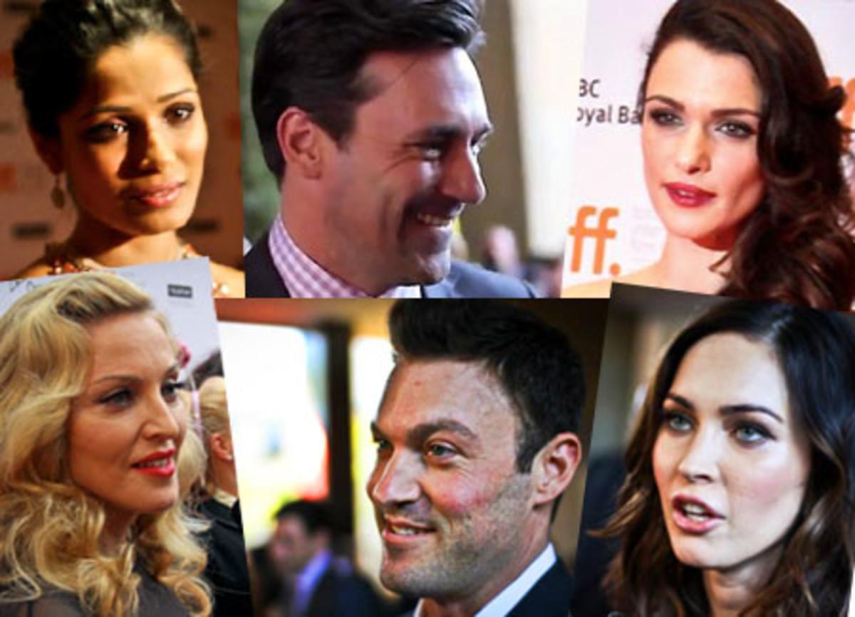 TIFF 2011_Jon Hamm_Megan Fox_Madonna_Rachel Weisz
