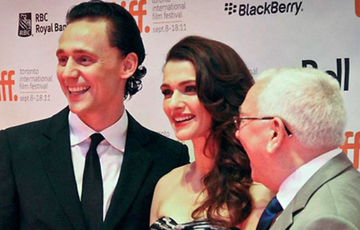Tom Hiddleston_Rachel Weisz_Terence Davies_TIFF 2011_photo Scott Meleskie