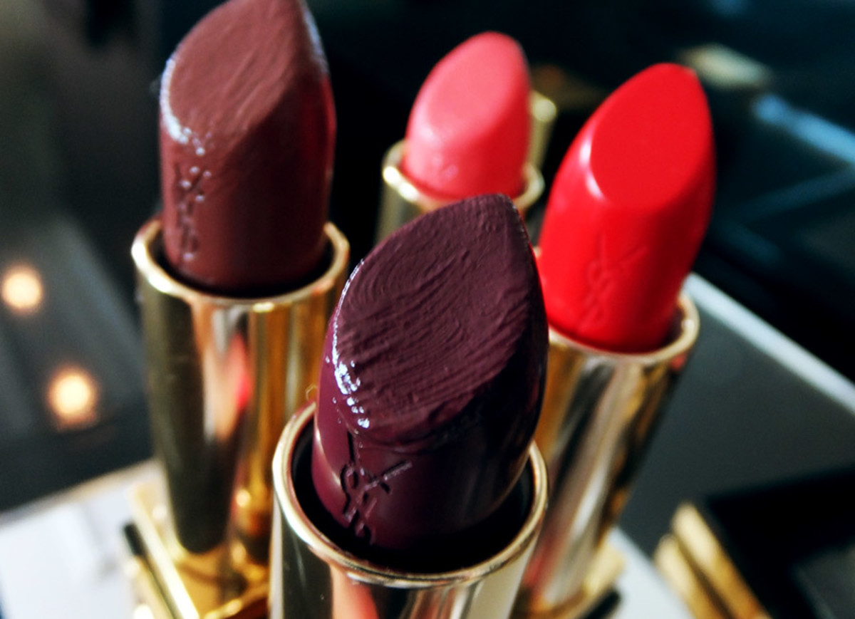 YSL Fall 2013 makeup_Rouge Pur Couture lipstick in 54 Prune Avenue