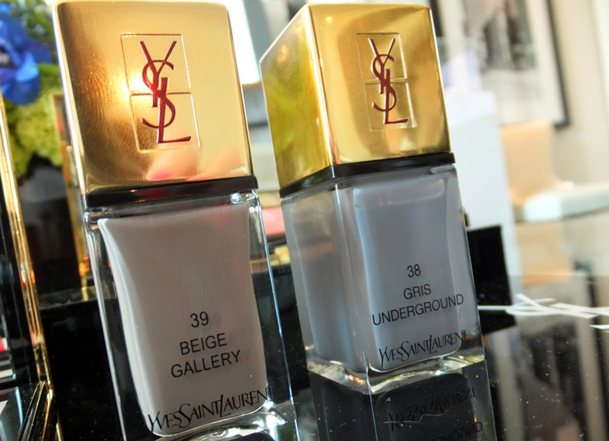 YSL Fall 2013 makeup_nail polish_39 Beige Gallery_38 Gris Underground