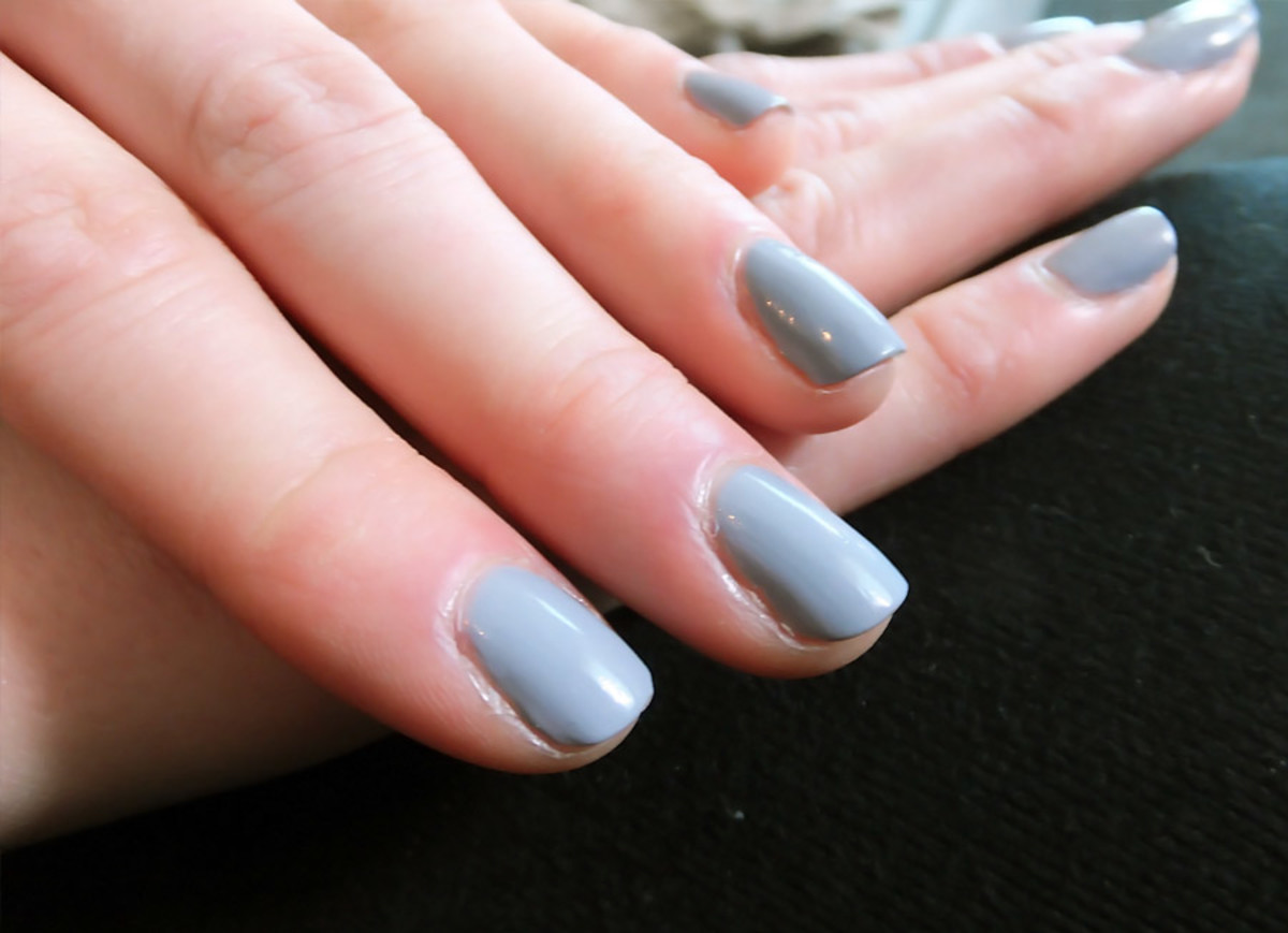 YSL Fall 2013 makeup_nail polish_38 Gris Underground