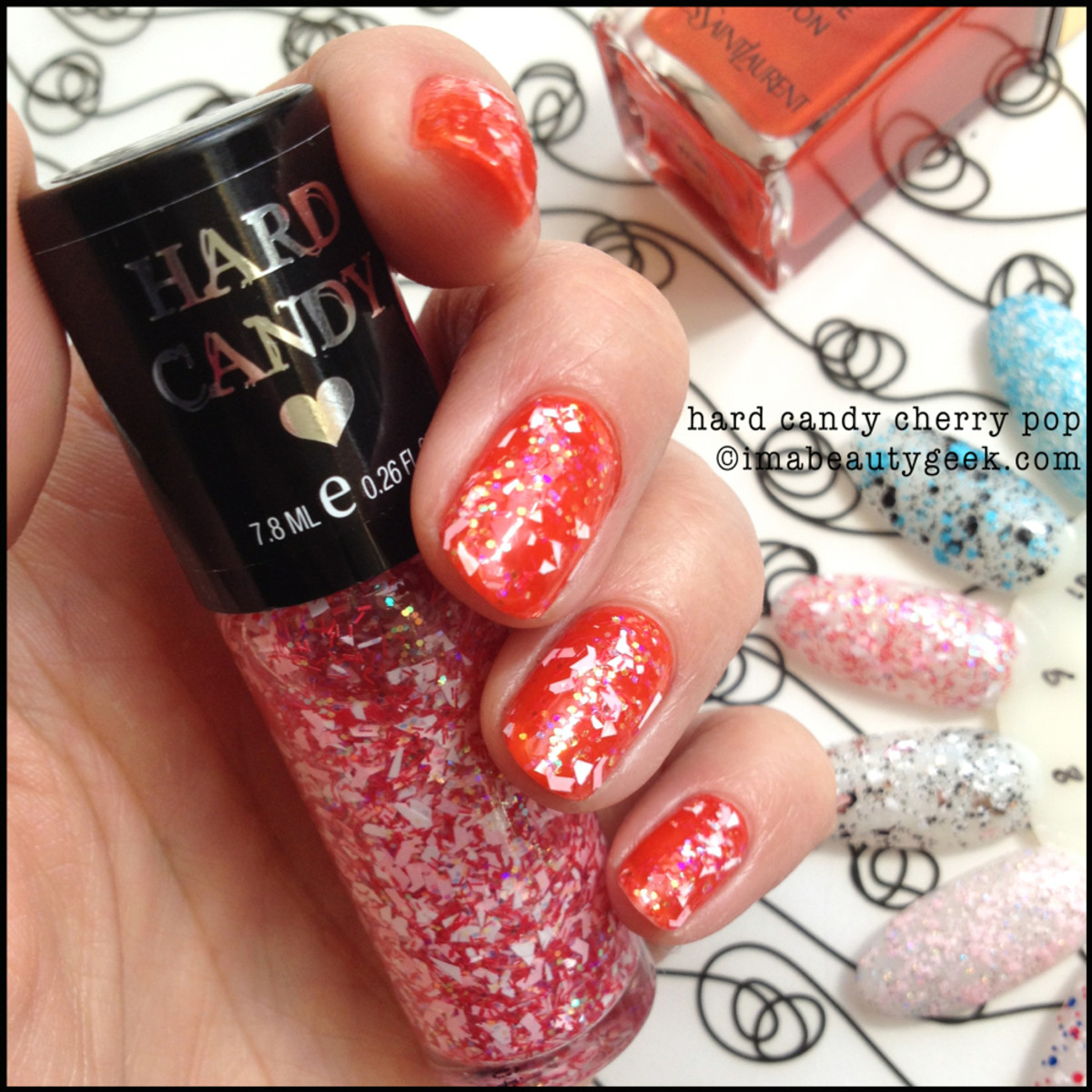 Hard Candy Cherry Pop_Hard Candy Polish Spring 2014