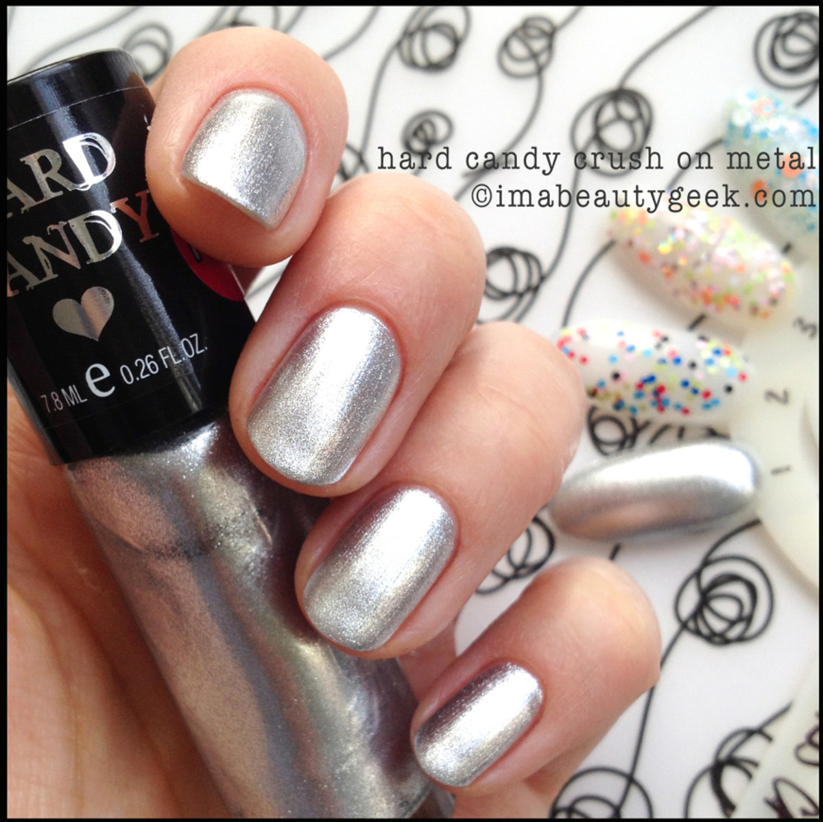 Hard Candy Crush on Metal_Hard Candy Polish Spring 2014