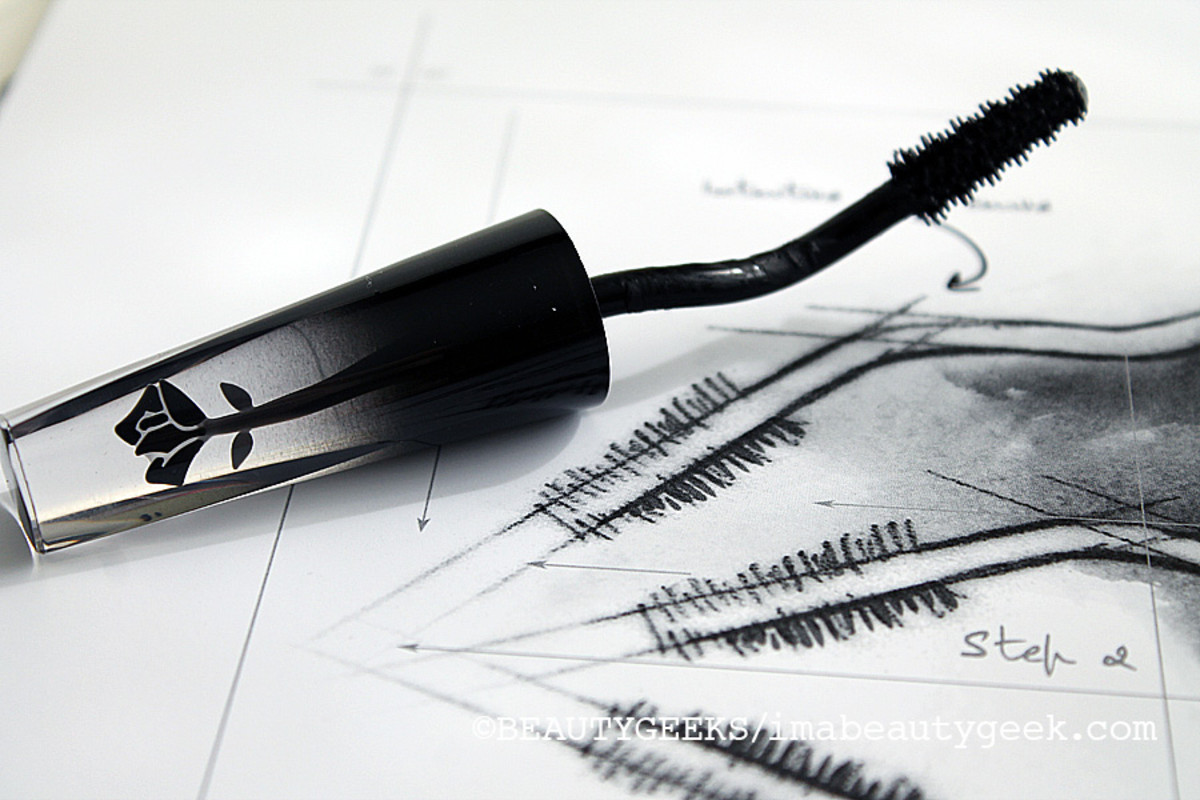 Lancome Grandiose mascara and wand diagram