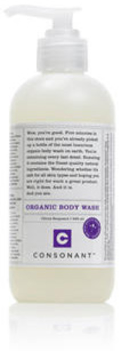 Consonant Body Organic Body Wash $16 and $28