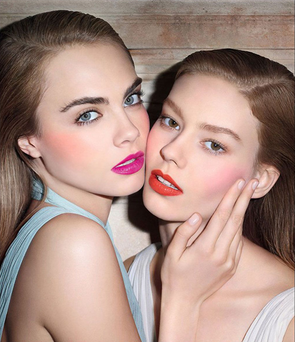 YSL Baby Doll Kiss & Blush Cara Delvingne_aka YSL Babydoll Kiss and Blush promo