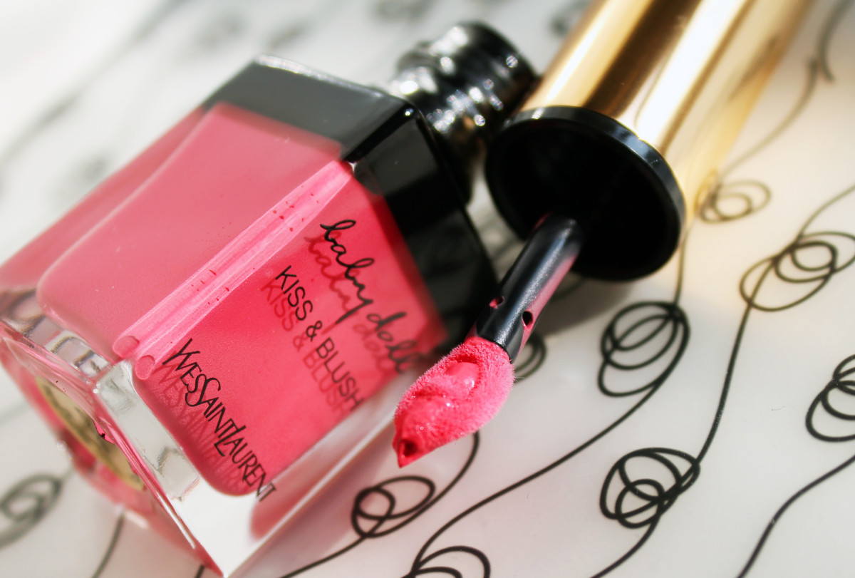YSL Baby Doll Kiss & Blush review_YSL Baby Doll Kiss & Blush Rose Frivole No 2_YSL Babydoll