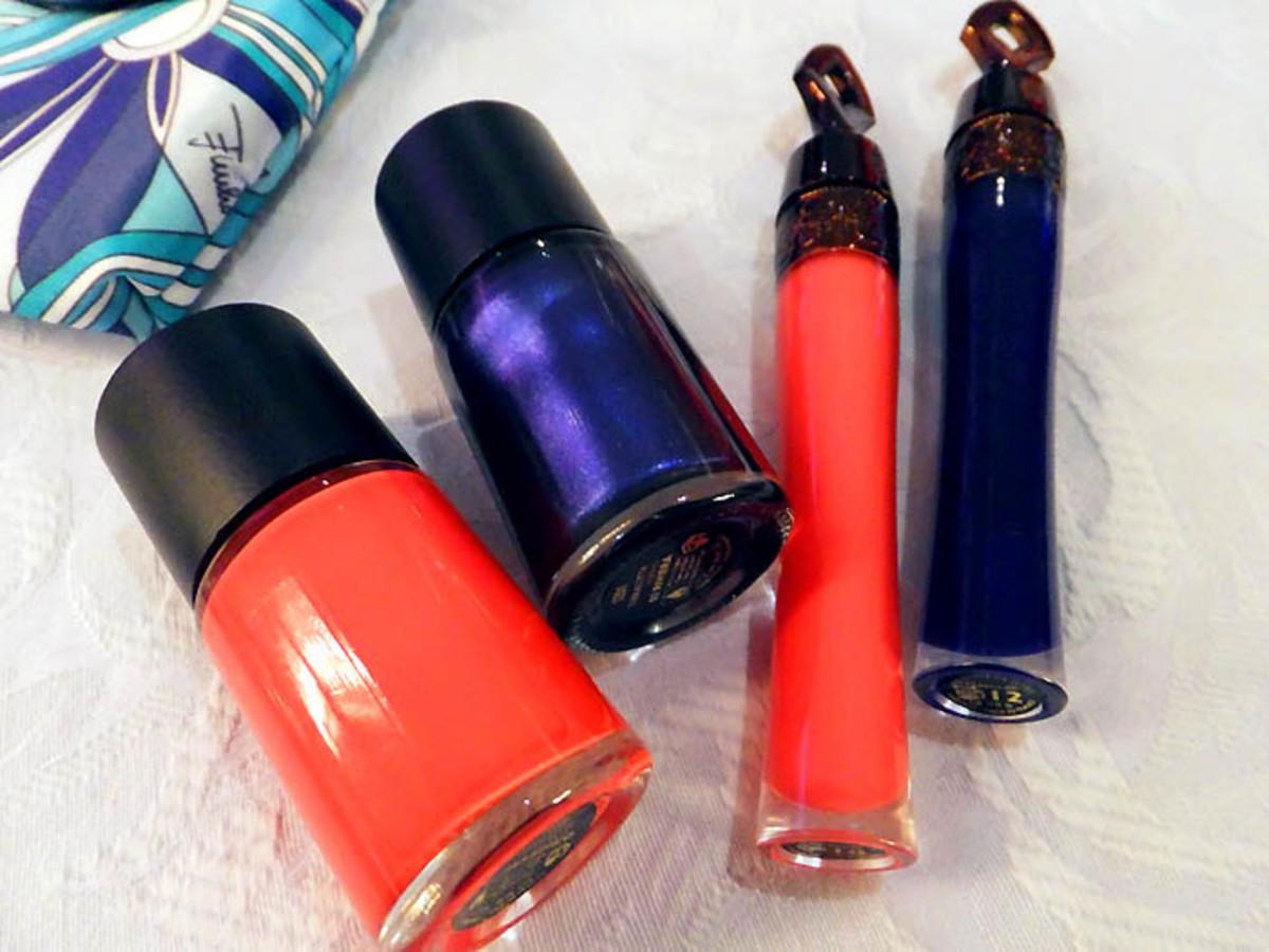 Guerlain Pucci_nail polish Paradisio_Riviera_lip gloss_Porto Fino_Porto Azzurro