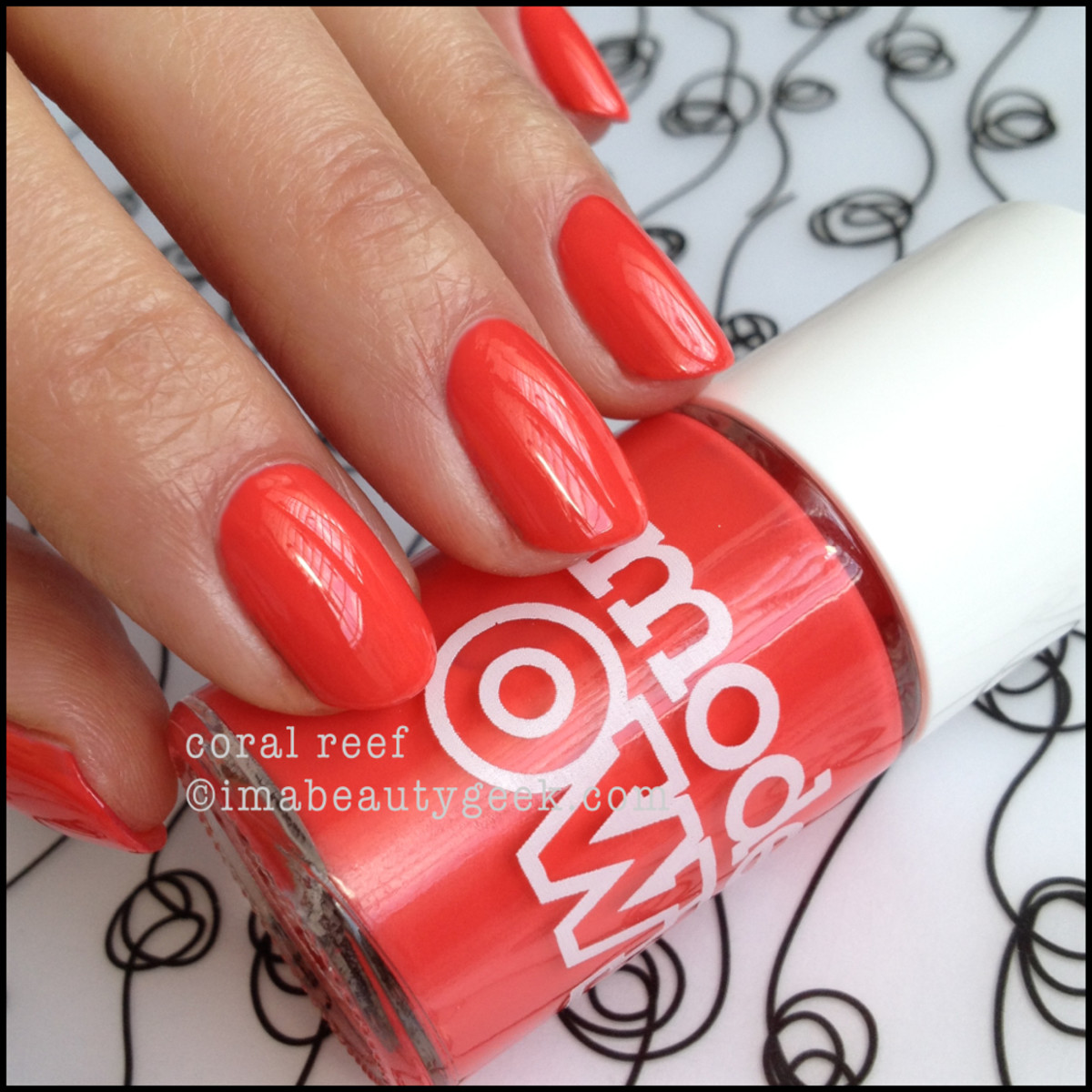 Models Own Polish Coral Reef polish manigeek