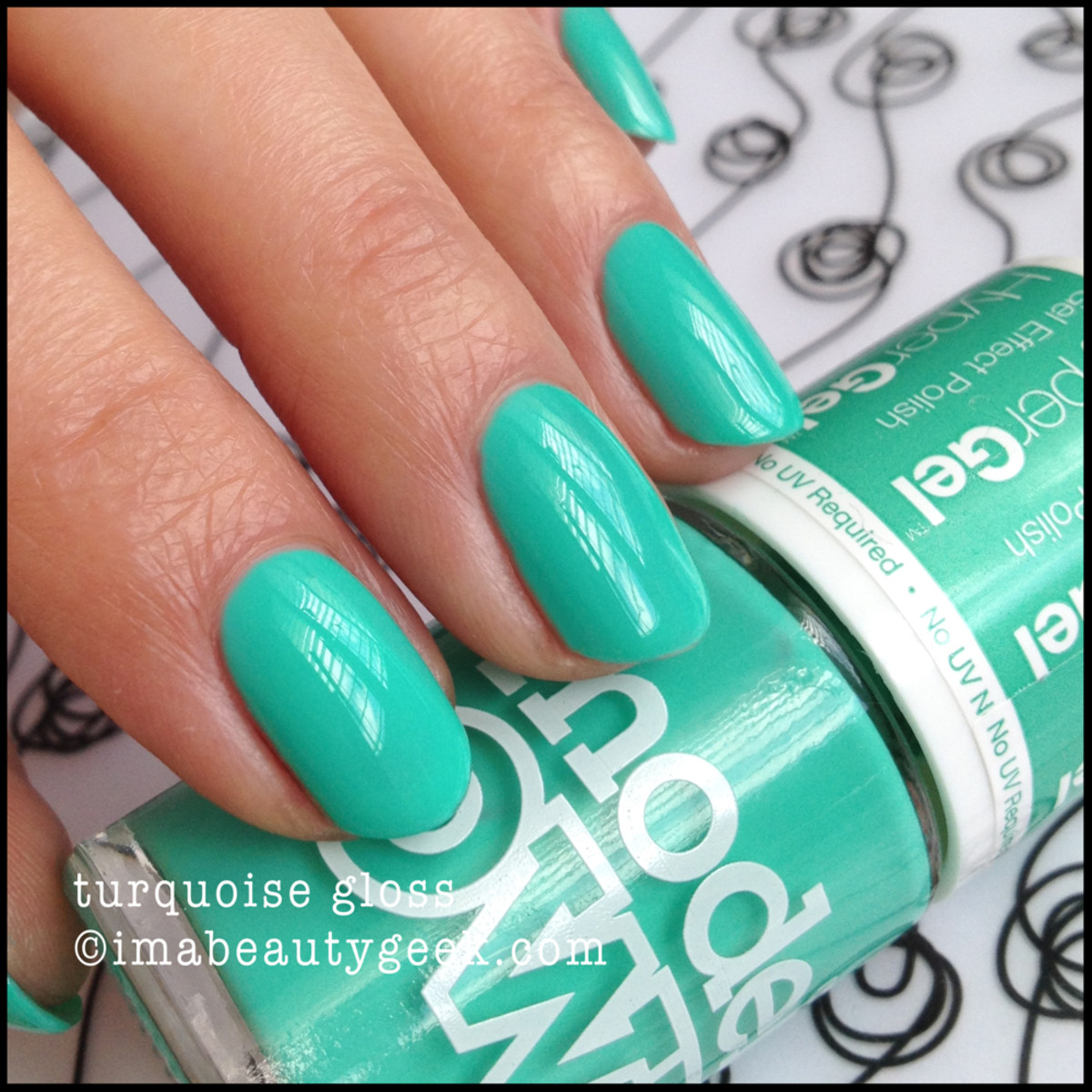 Models Own Polish Turquoise Gloss imabeautygeek