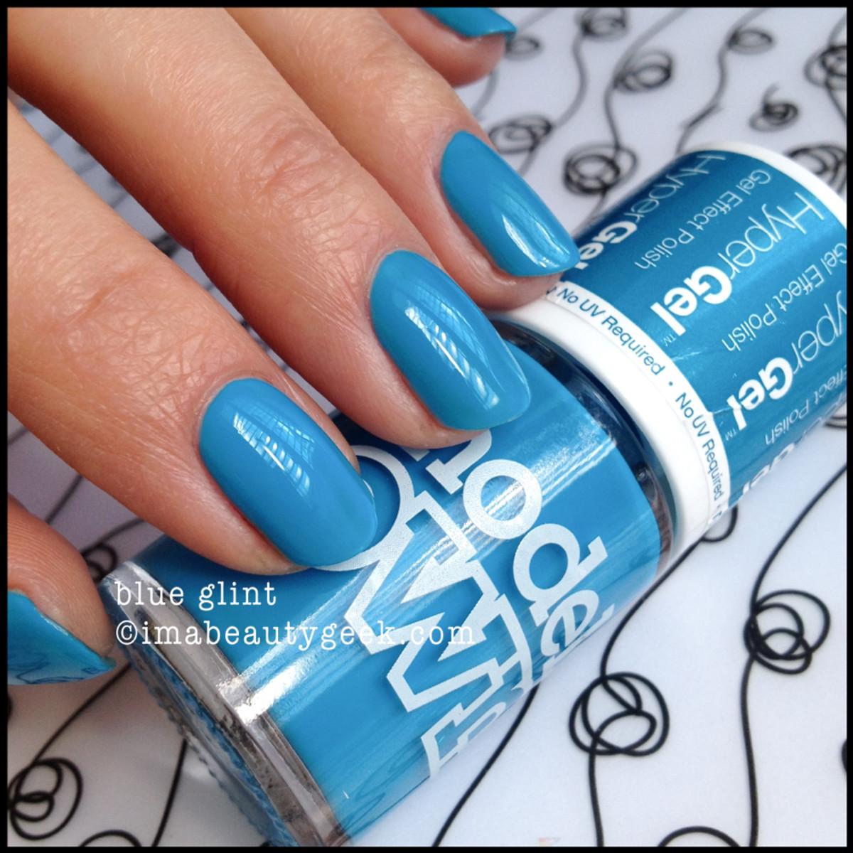 Models Own polish Blue Glint HyperGel