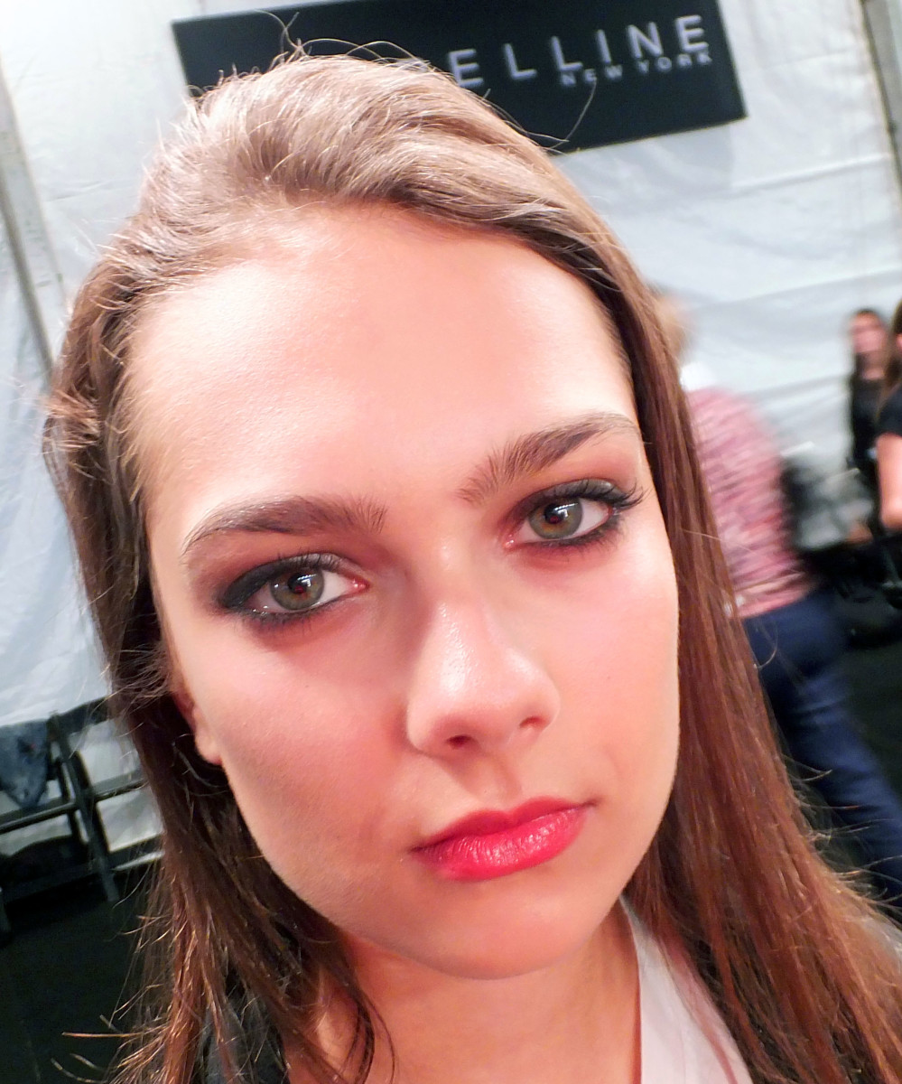 sexy grunge girl eyes at Beaufille_World Mastercard Fashion Week