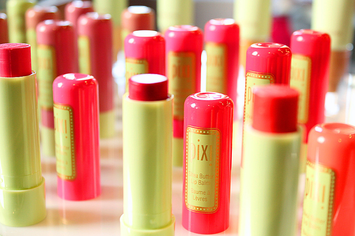 Pixi Spring 2014_Pixi Shea Butter Lip Balm range_Target