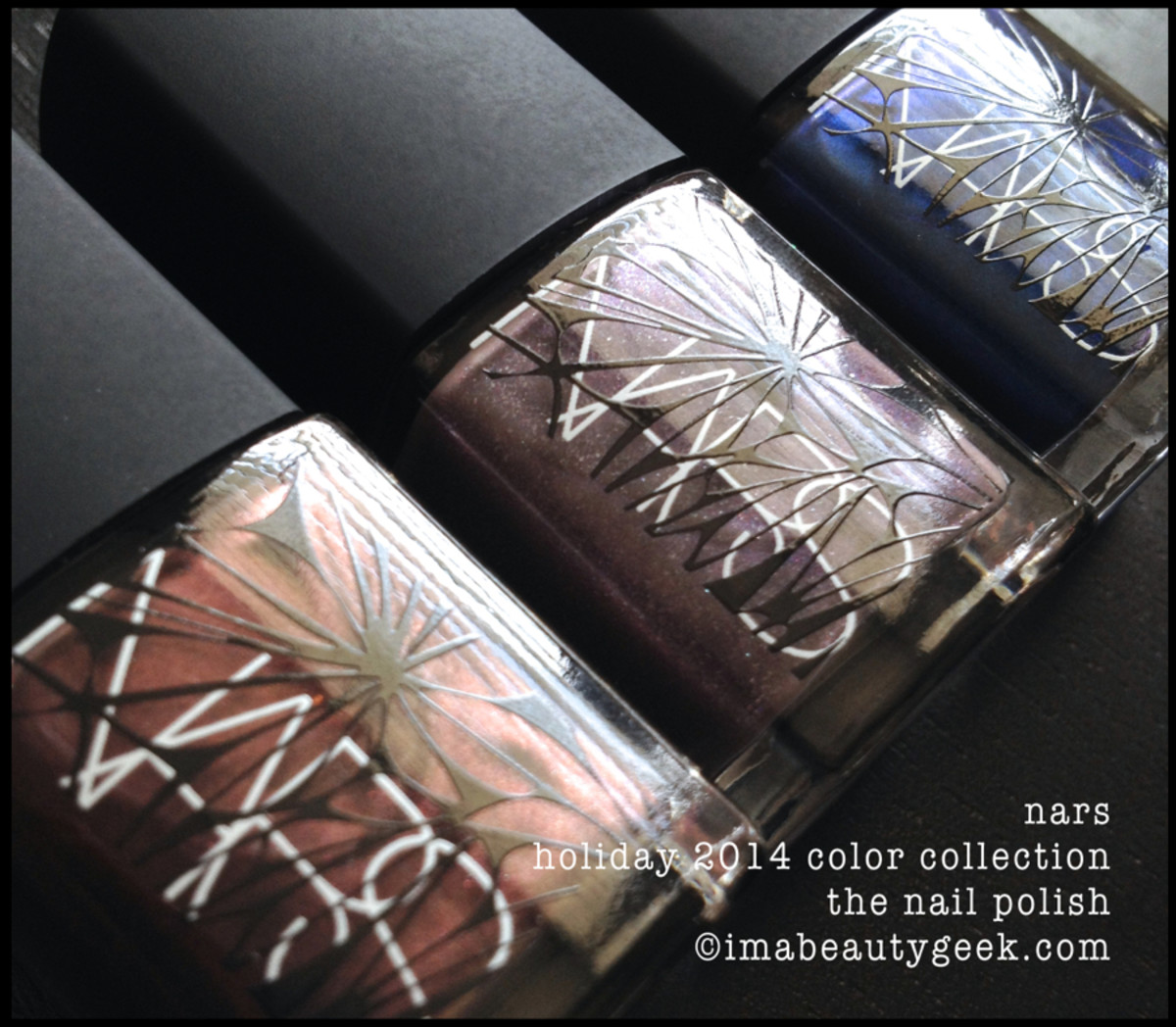 NARS holiday 2014 nail polish Color Collection