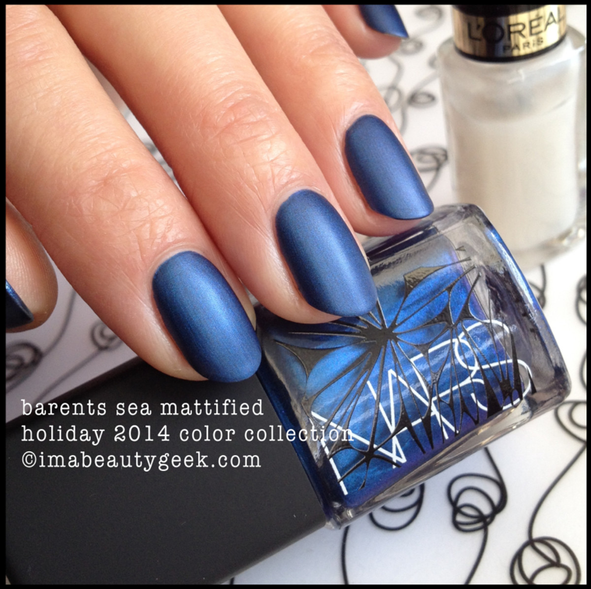 NARS Barents Sea Mattified Holiday 2014 Color Collection