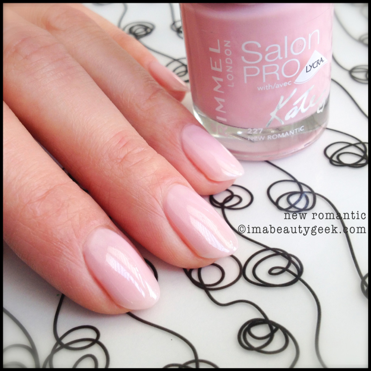 Rimmel Polish New Romantic Kate Moss Spring 2014