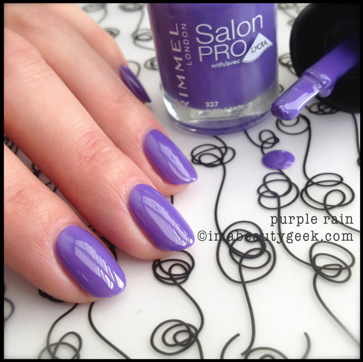Rimmel Polish Purple Rain Spring 2014