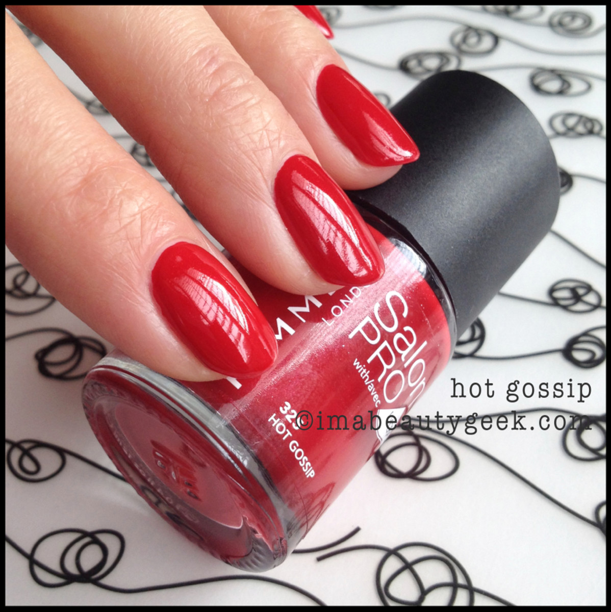 Rimmel Polish Hot Gossip Spring 2014