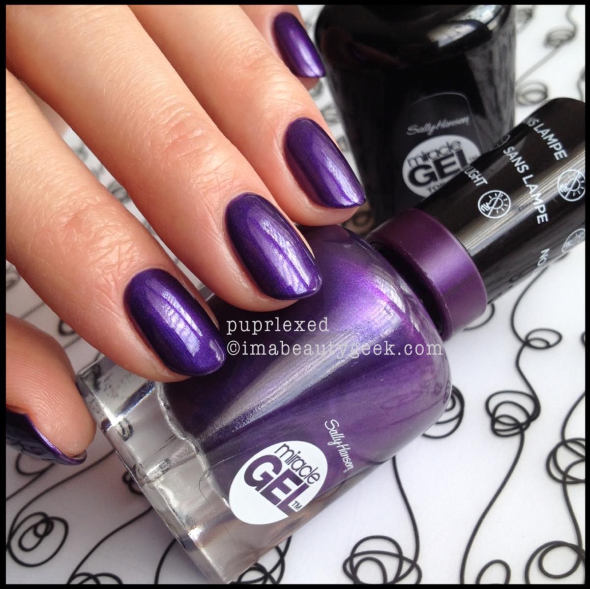 Sally Hansen Miracle Gel Purplexed 2014