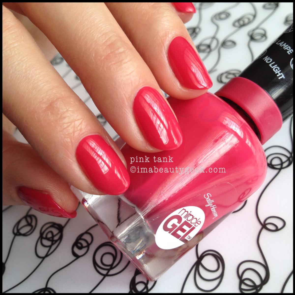 Sally Hansen Miracle Gel Pink Tank 2014