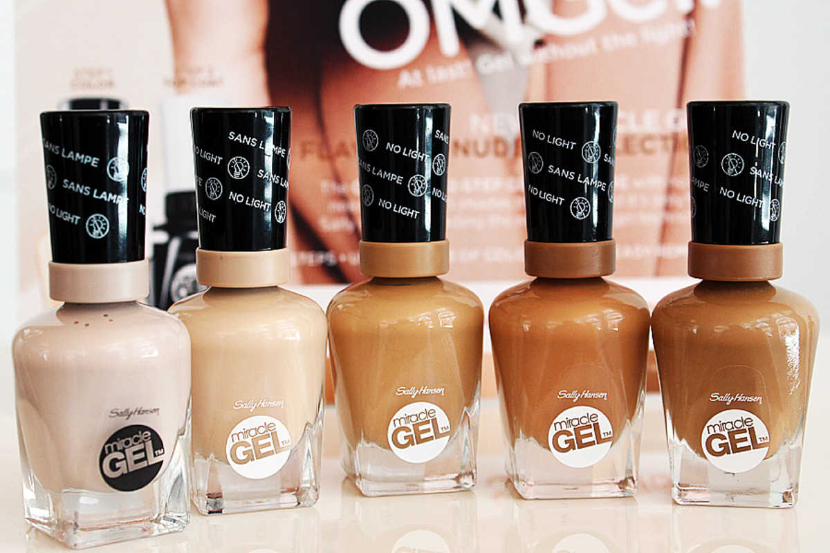 Sally Hansen Miracle Gel_Flawless Nudes color collection