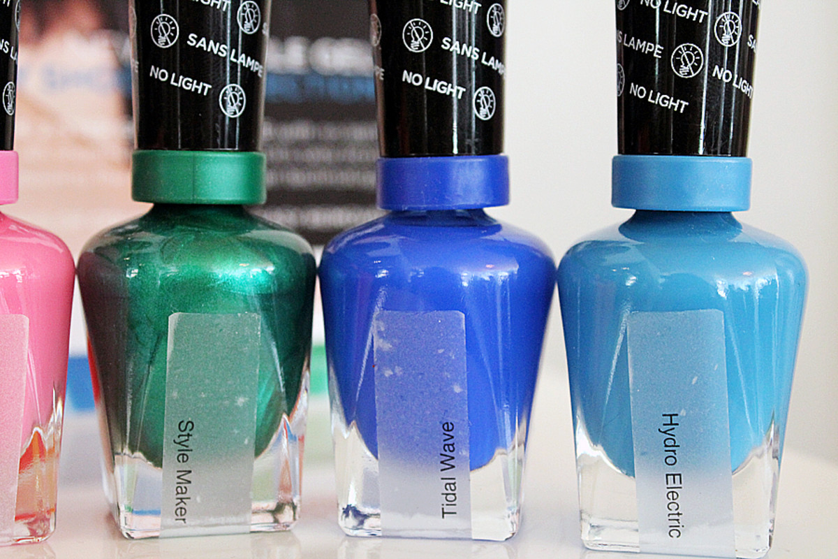 Sally Hansen Miracle Gel_Style Maker_Tidal Wave_Hydro Electric