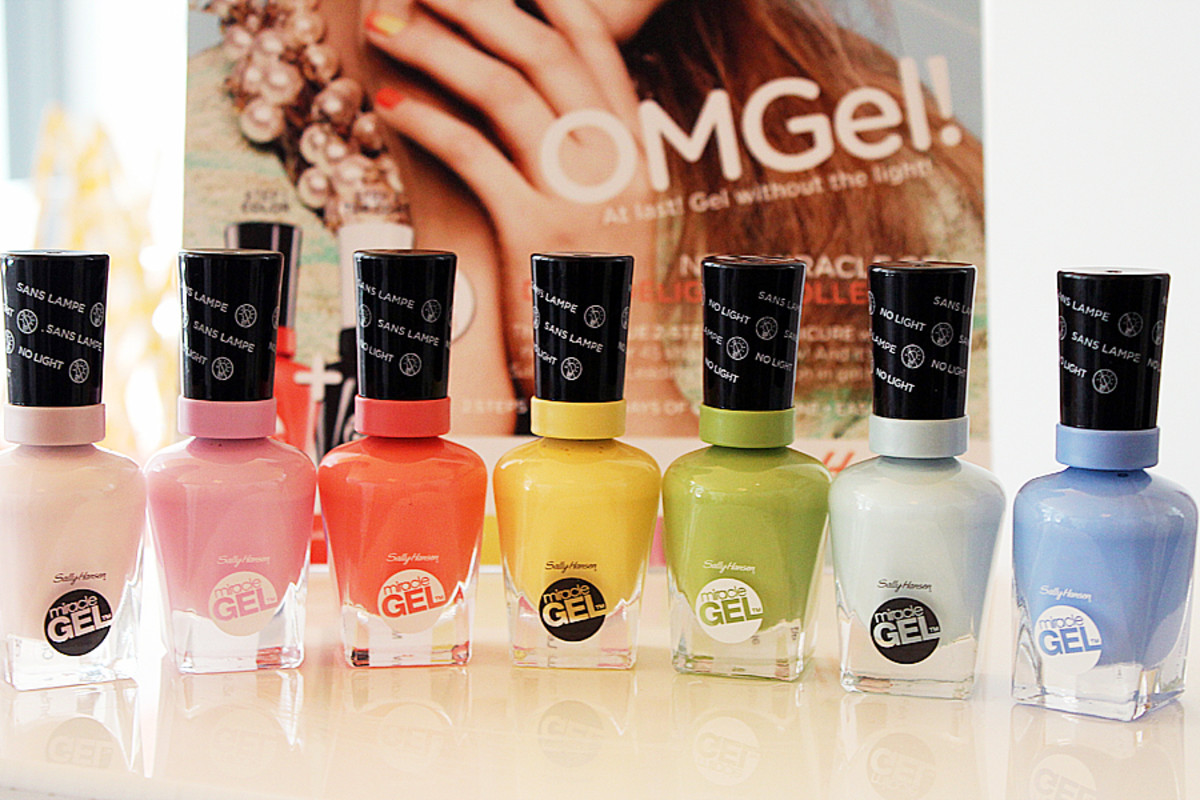 Sally Hansen Miracle Gel_Daily Delights Collection of shades