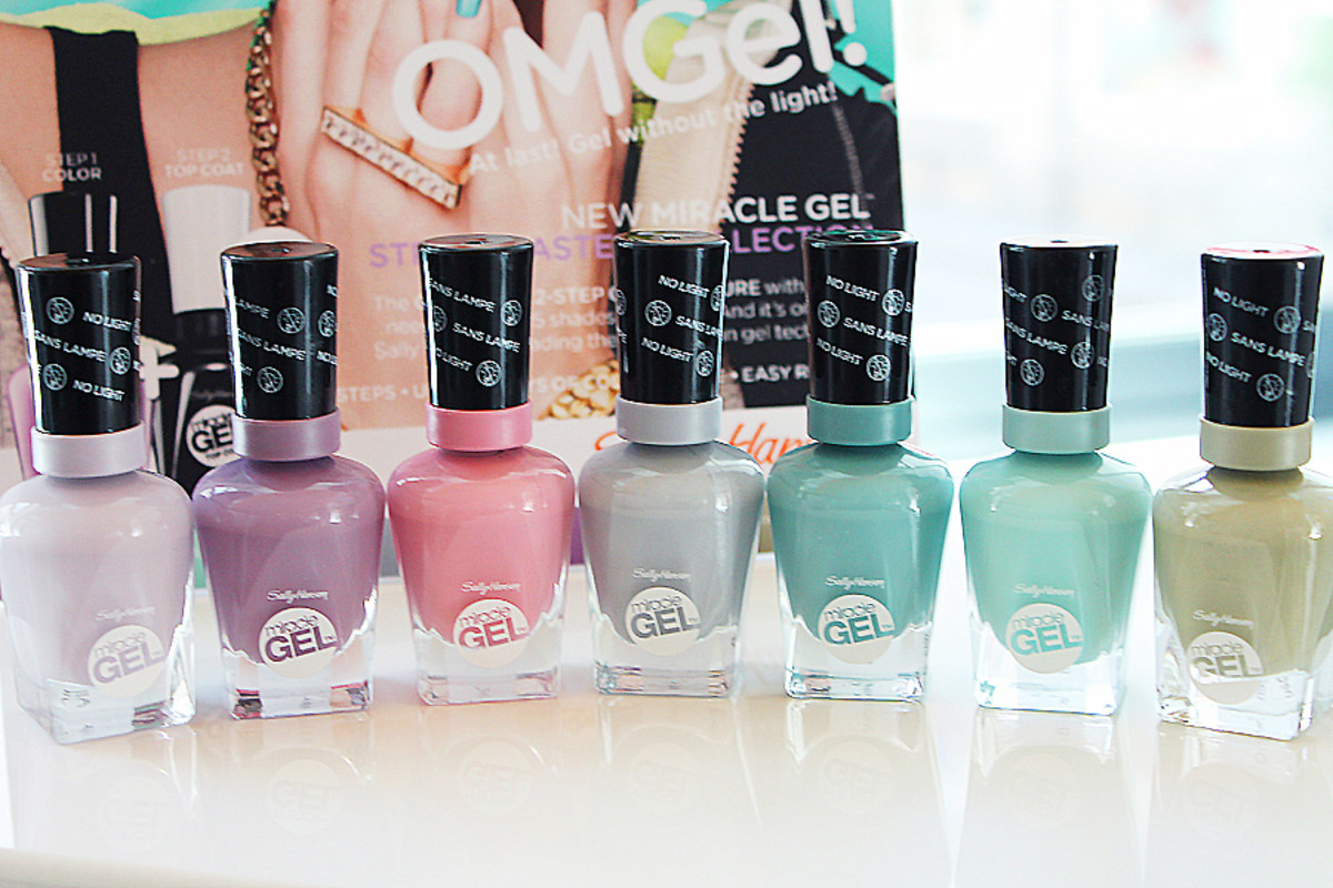 Sally Hansen Miracle Gel_Street Pastels Collection of shades